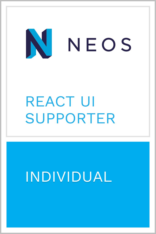 NeosBadge_React UI Individual_WERK4.1 Neue Medien GmbH